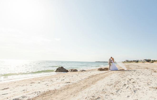 Gorgeous Cape Cod beach wedding
