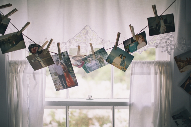 Wedding picture display