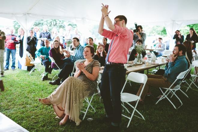 Wedding speaches