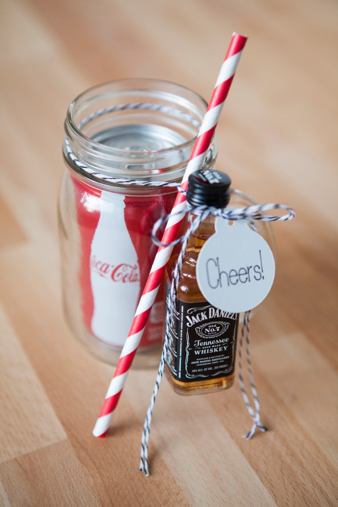 DIY // Mason Jar Cocktail Gift