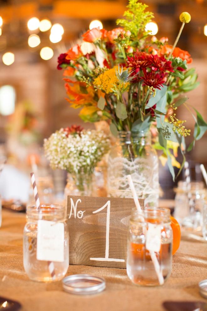 DIY fall wedding must see!
