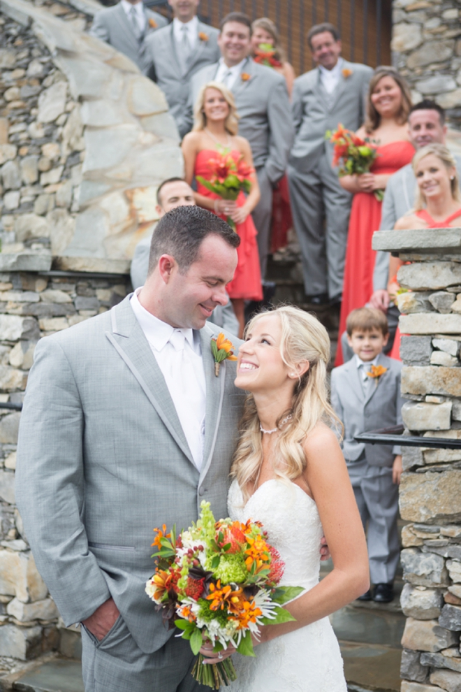 Fall wedding at Black Creek Mountain