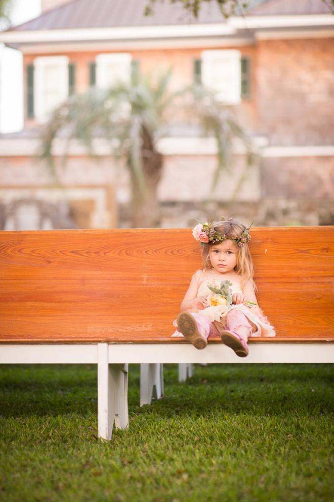Little flower girl