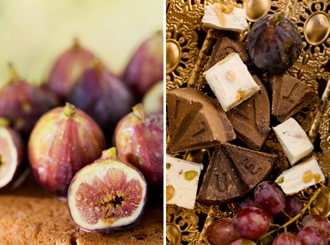 Figs and chocolate