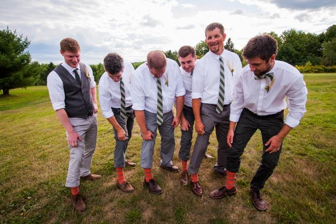 Funny groomsmen socks