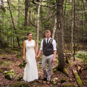 Lovely DIY Maine wedding