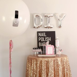 DIY Nail Polish Bar! Make your own nail polish!