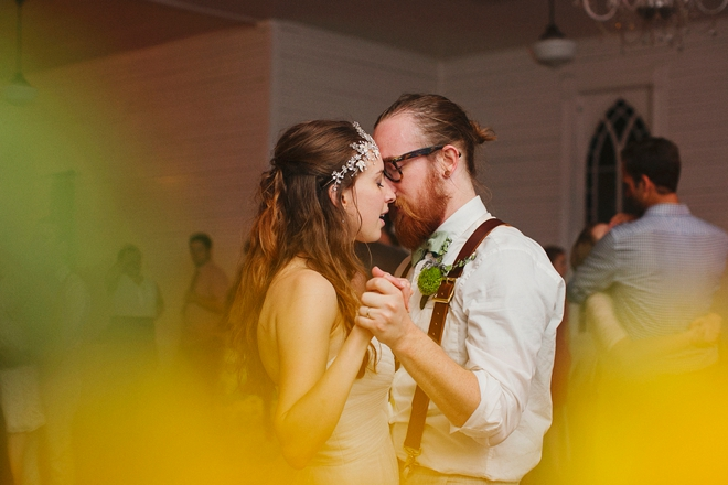 The first dance as Mr & Mrs