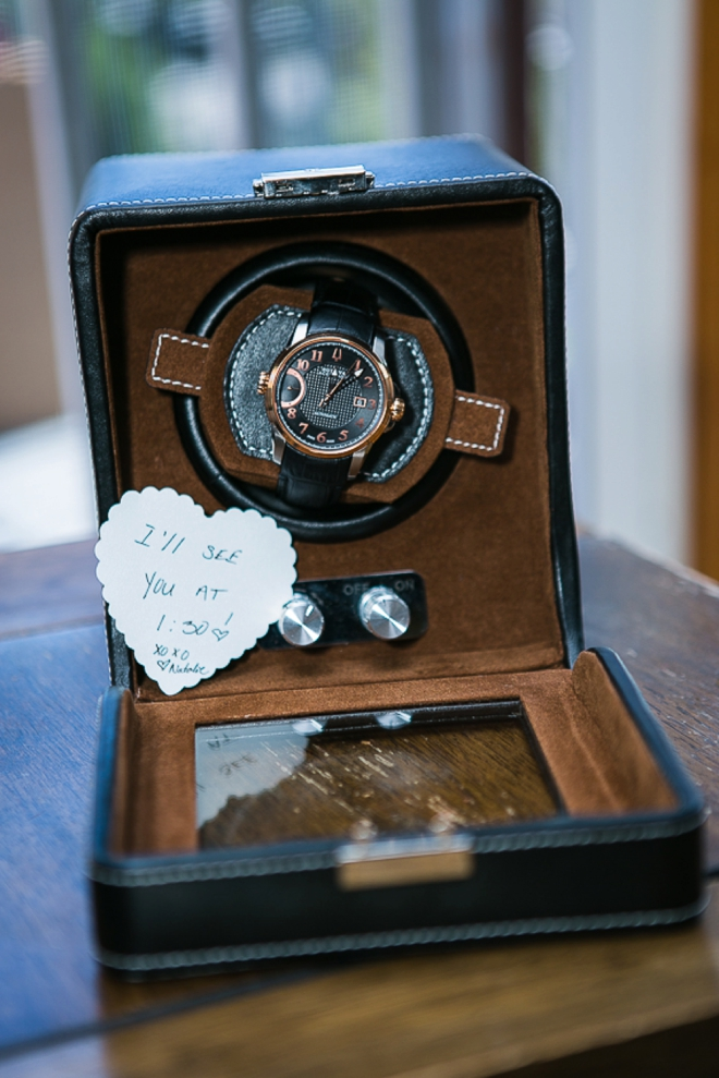 Groom watch gift