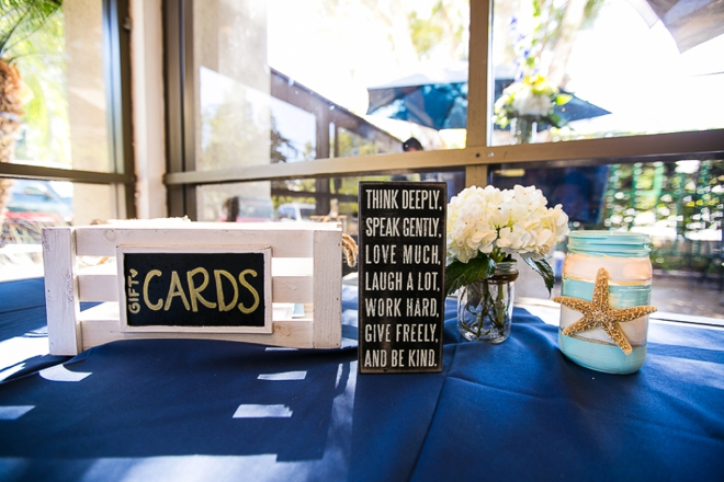 Gift card table