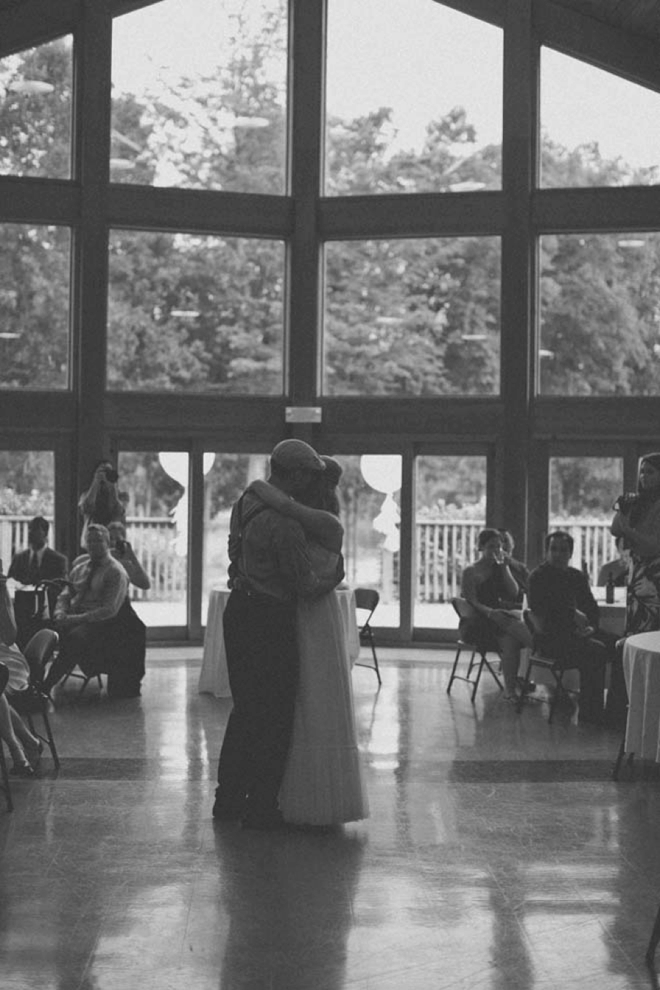 The beautiful first dance