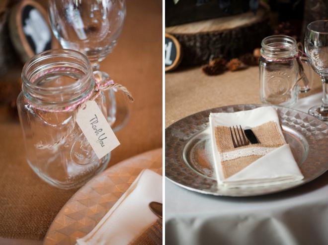 Beautiful, rustic DIY mountain wedding