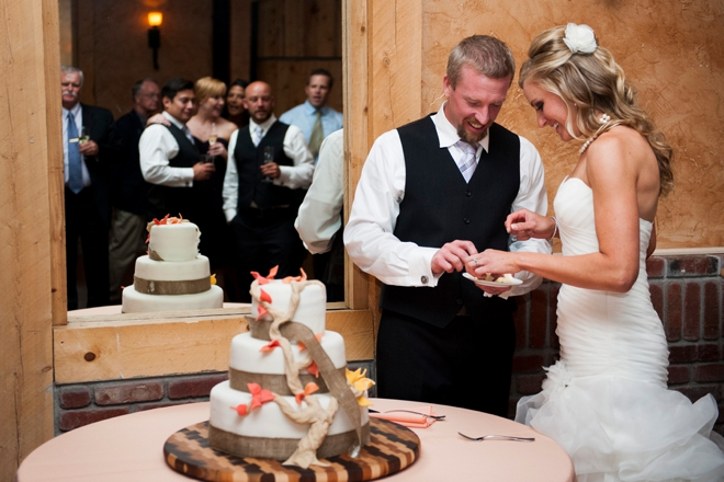 The groom made the cake!