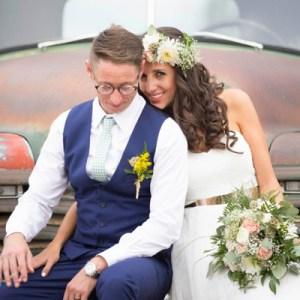 Gorgeous gold DIY wedding
