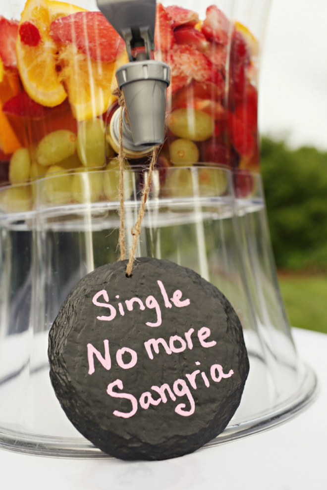 Single No-more Sangria