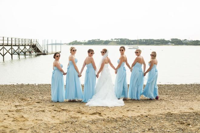 Turquoise Cape Cod Wedding