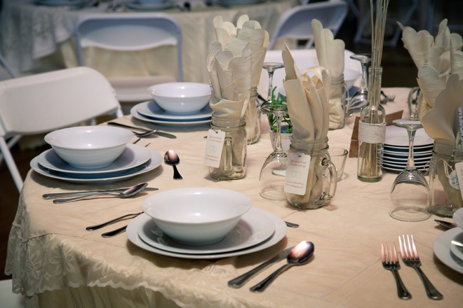 DIY, rustic shabby chic wedding