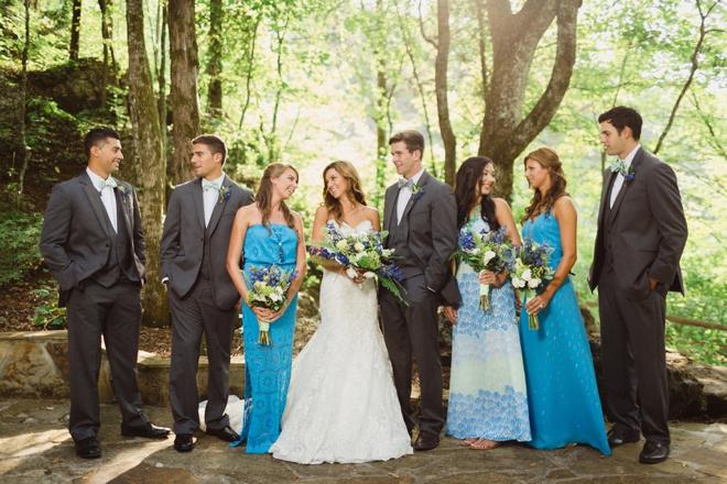 Turquoise Lilly Pulitzer Wedding Inspiration