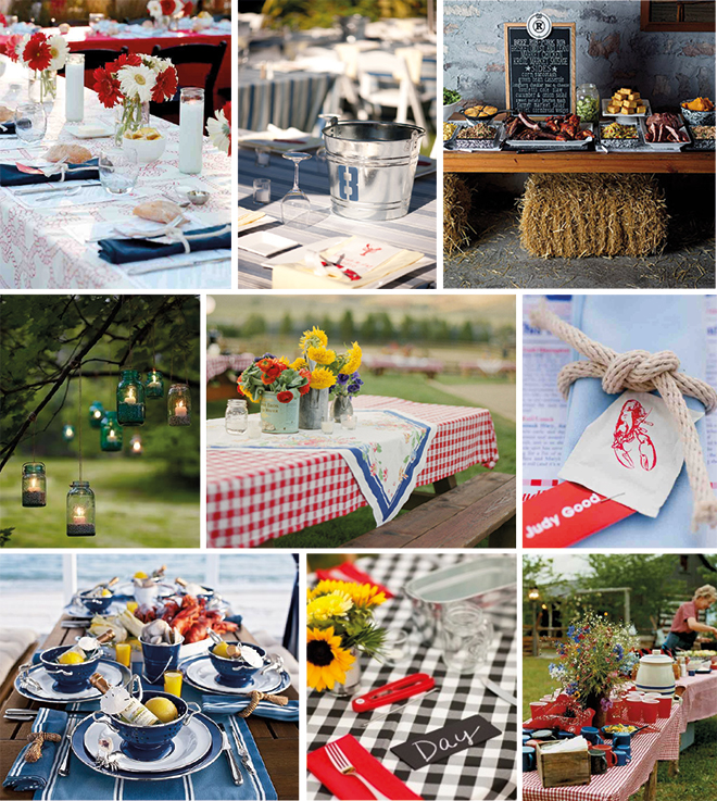 Ideas To Create A Fabulous Summer BBQ Rehearsal Dinner