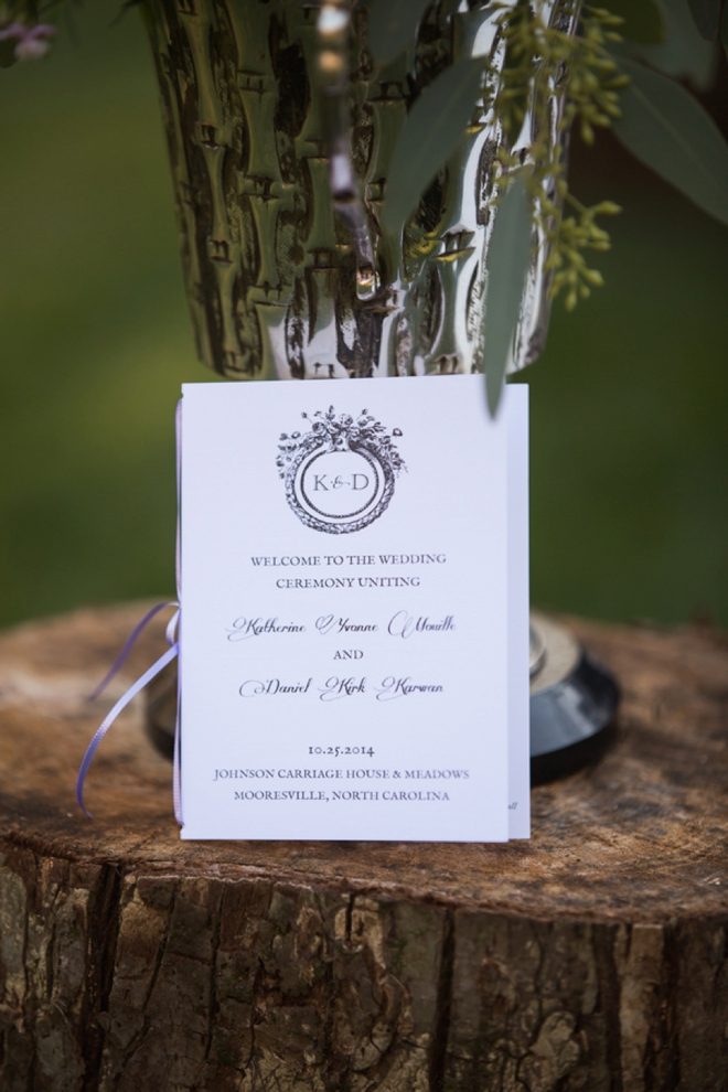 Beautiful, handmade wedding with unique details!