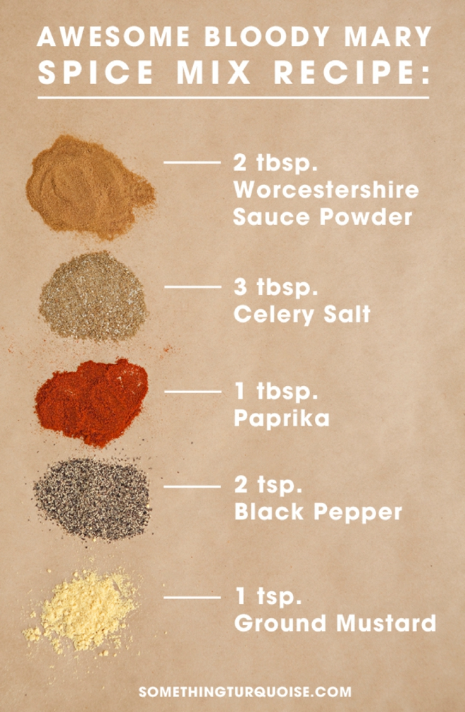 Awesome Bloody Mary Spice Mix Recipe