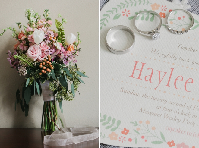Super sweet, intimate DIY park wedding