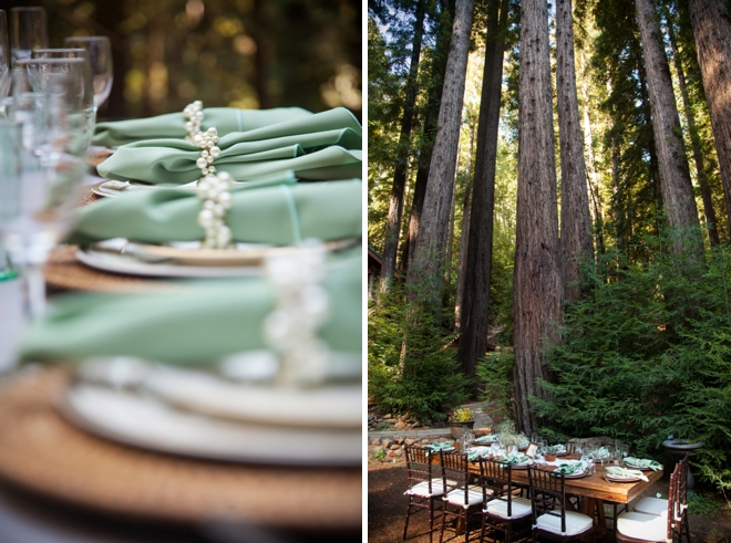 Amazing boho-chic wedding in the forest