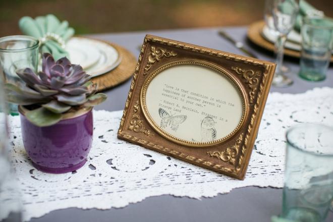 Love quote, wedding decor