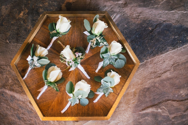 Rose and eucalyptus bouts