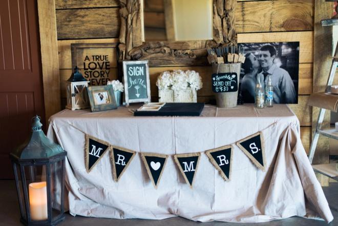 Lovely, DIY rustic wedding at a family farm.
