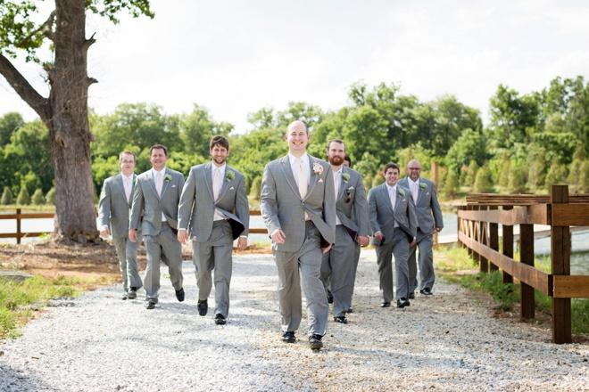 Gray Suit Groom style!