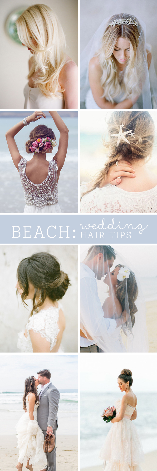 The best beach wedding hair tips awesome tips for beach wedding hair must read junglespirit Image collections