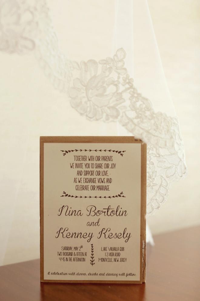 DIY wedding invitations!