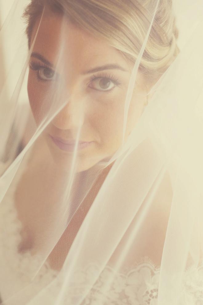 Stunning veil shot