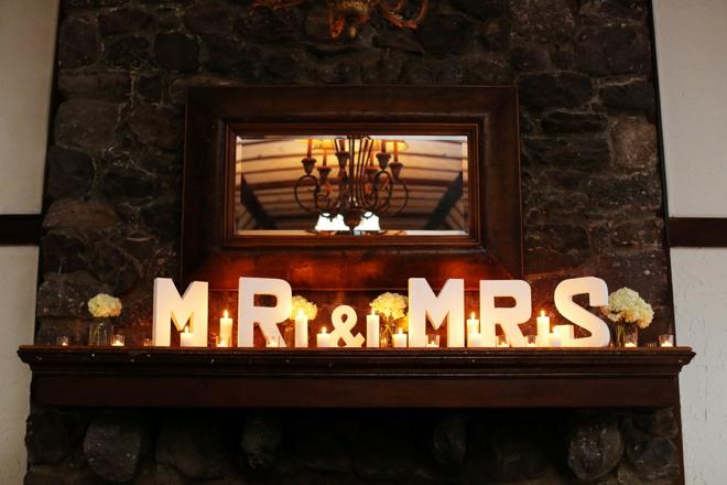 Mr & Mrs mantle letters