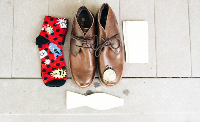 The groom accessories