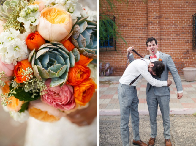 Adorable mint + coral DIY wedding at the Park Avenue!