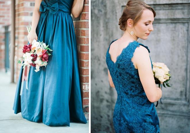 Royal blue bridesmaid dress ideas!