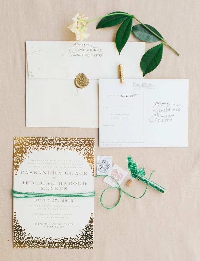 DIY Wedding | Jed + Cassandra - Something Turquoise