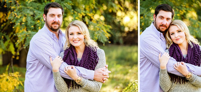 We love this darling engagement session!