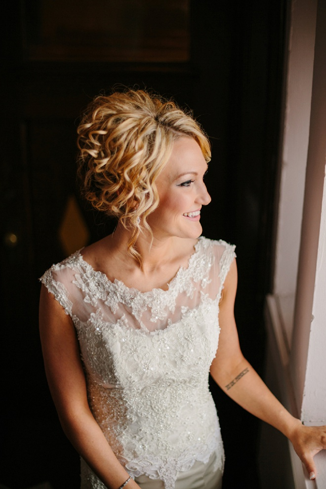 Gorgeous Bride Getting Ready for the Big Day!