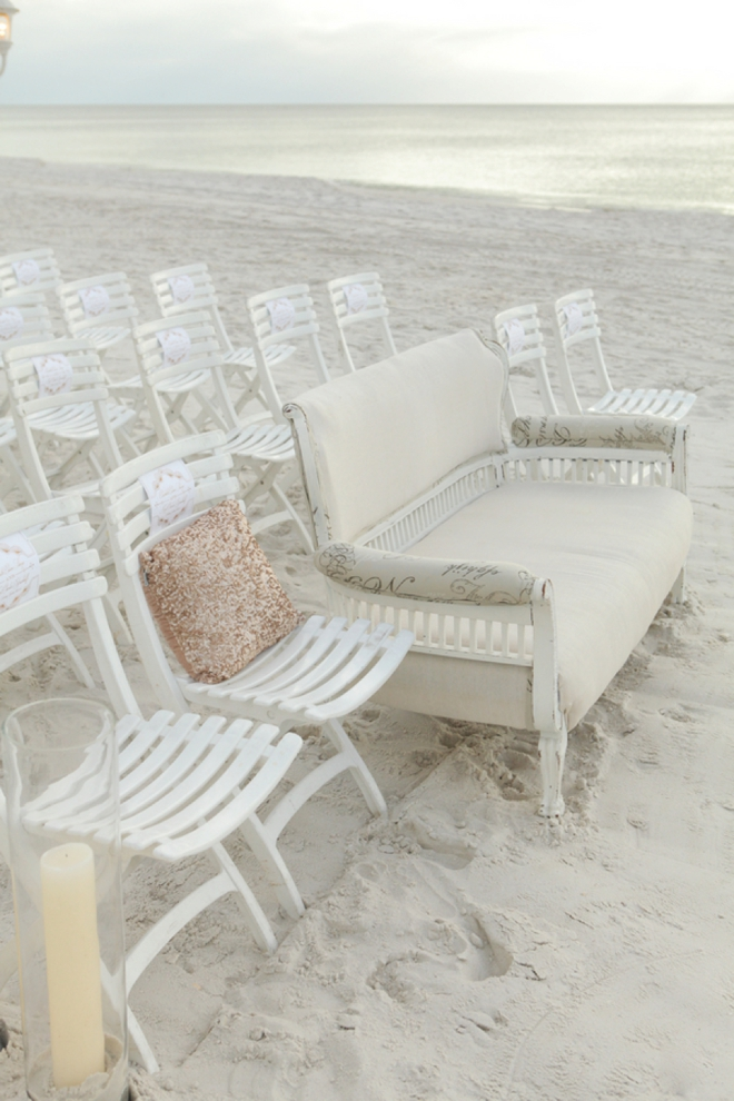 Amazing seaside wedding ceremony.
