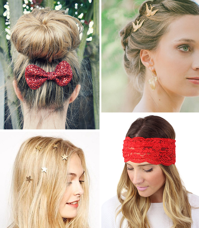 Holiday Hair Accessories From Etsy!