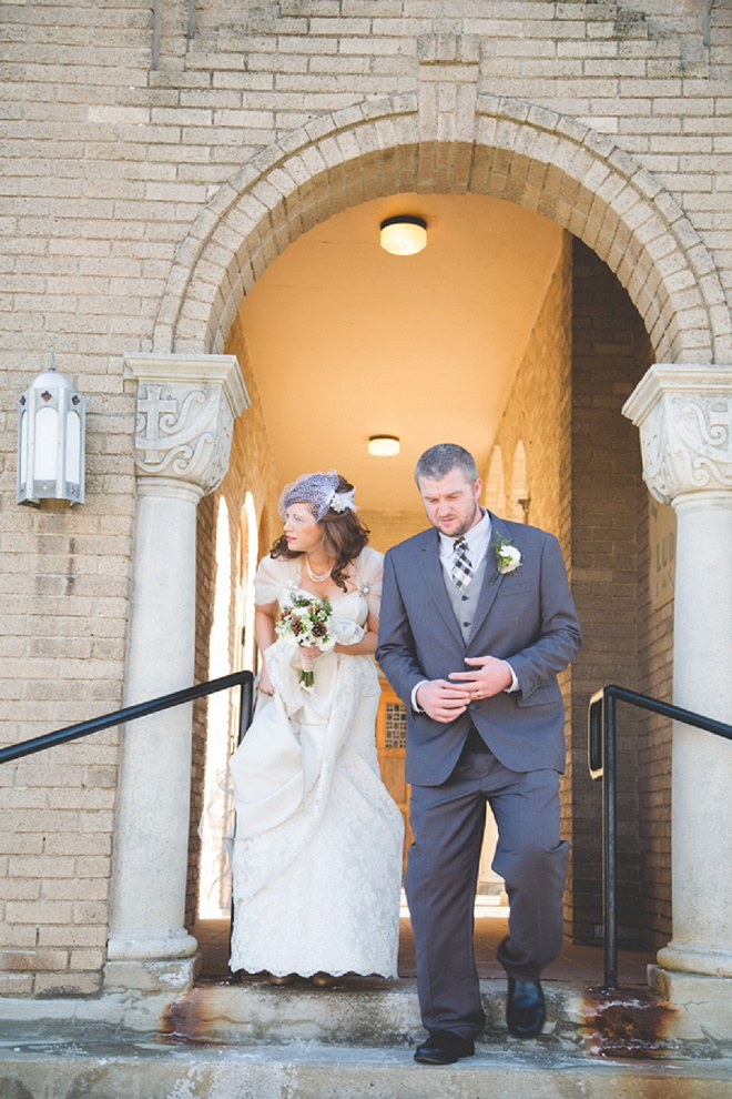 Darling bride and groom!