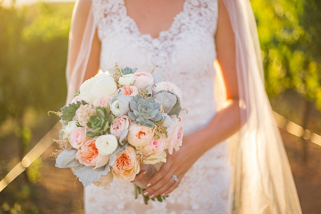 We're loving this bright gorgeous bouquet!