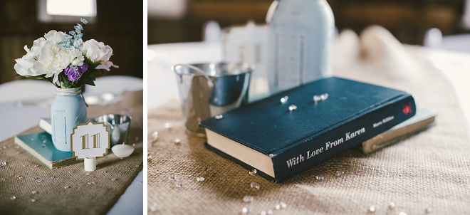 We love this darling rustic wedding!