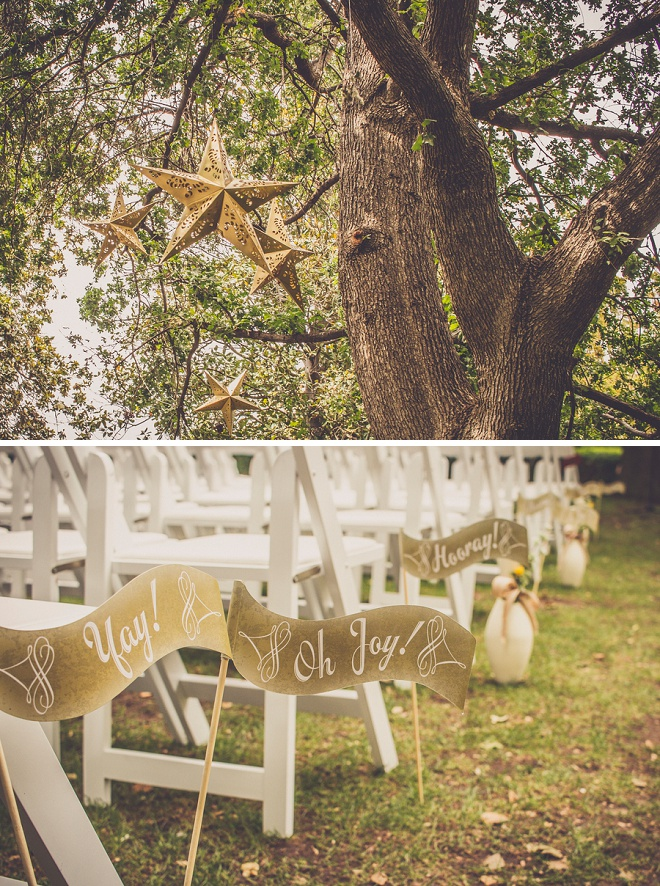LOVE all of these gorgeous details at this fun DIY carnival style wedding!