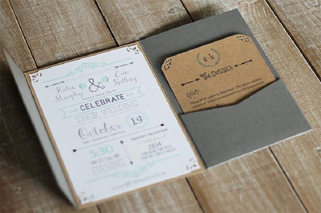 Free printable wedding invitation template