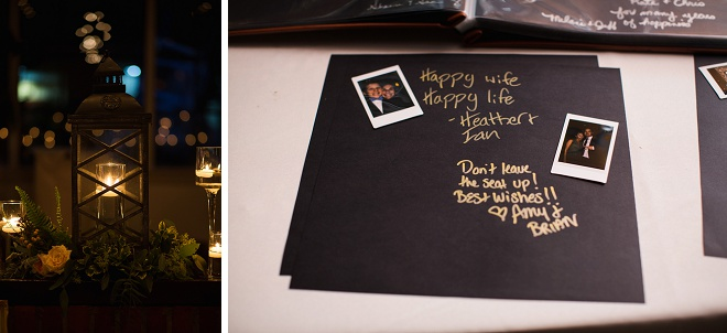 We love this photo guest book!