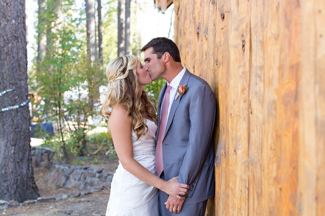We love this gorgous DIY outdoor Tahoe City wedding!